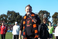 Anthony Albanese MP at Reclink Community Cup Elsternwick Park Melbourne on Sunday 21 June 2015. Photo by Ros O'Gorman