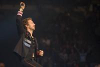 Chris Martin, Coldplay. Photo by Ros O'Gorman