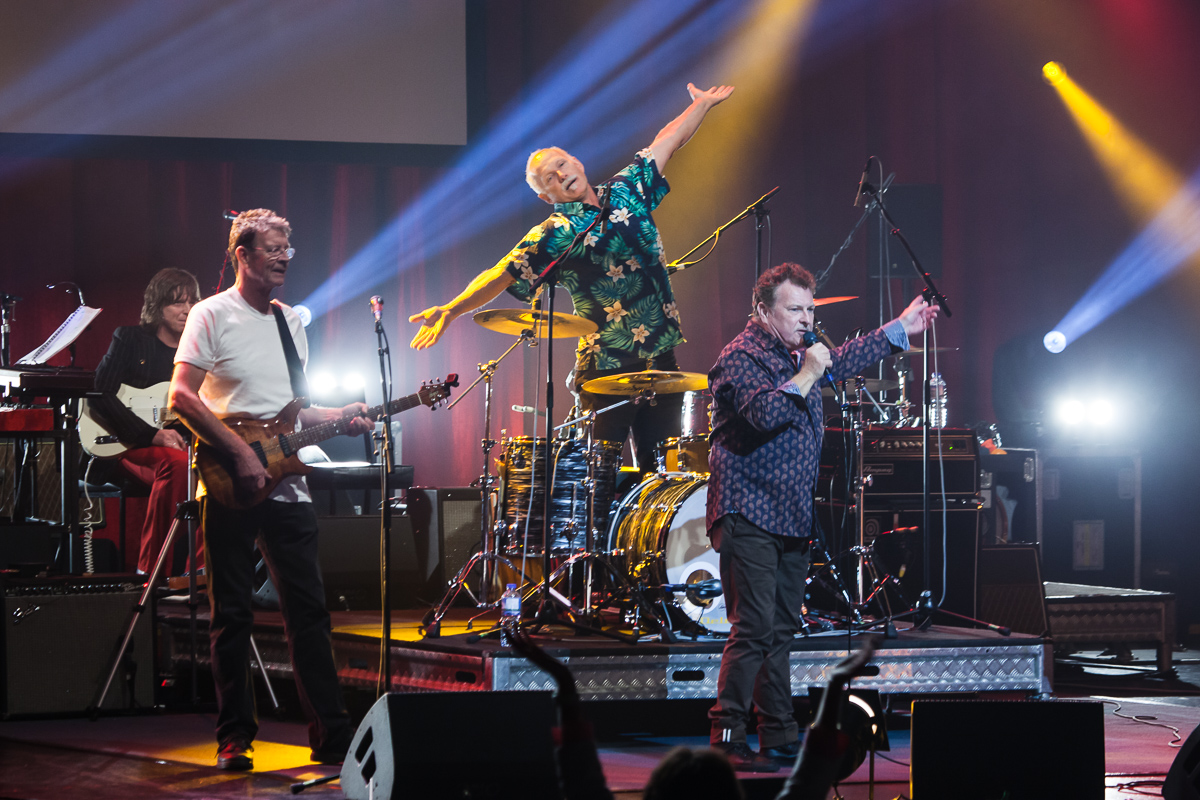 Skyhooks with Ross Wilson. Photo by Ros O'Gorman