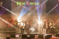 Skyhooks with Ross Wilson performed at the Rockwiz Live show at the Palais in Melbourne on Thursday 8 October 2015. Photo by Ros O'Gorman