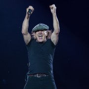 Brian Johnson AC/DC Etihad Stadium, Rock Or Bust World Tour. Photo by Ros O'Gorman
