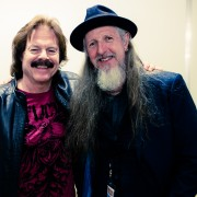 The Doobie Brothers Tom Johnston and Patrick Simmons. Photo by Ros O'Gorman