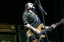 Motorhead singer and bassist Lemmy Kilmister. Photo by Ros O'Gorman