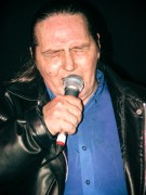 Stevie Wright performs at the Moser Room South Yarra on 5 August 2004. Photo by Ros O'Gorman