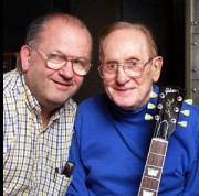 Rusty and Les Paul