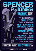 Spencer P Jones benefit