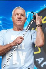 Daryl Braithwaite performs at One Electric Day at Werribee Park in the grounds of the Werribee mansion on Sunday 29 November 2015. Photo by Ros O'Gorman