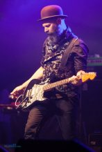 Brian Canham, Pseudo Echo. Pure Gold Live at the Palais in St Kilda on Friday 13 May 2016. Photo by Ros O'Gorman