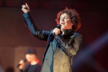Leo Sayer performs at Hamer Hall on Friday 24 June 2016.
