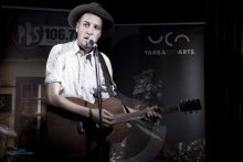 Marlon Williams at 2014 Leaps and Bounds Launch. Photo by Ros O'Gorman http://www.noise11.com