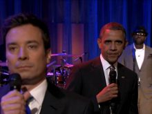 Obama and Fallon