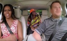 James Corden Michelle Obama Missy Elliott