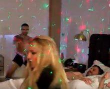 Britney Spears dances for Jimmy Kimmel