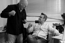 David Enthoven and Robbie Williams