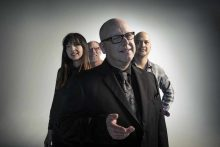 The Pixies From left: Paz Lenchantin, David Lovering, Black Francis, Joey Santiago