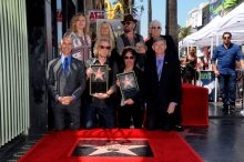 Hall and Oates recieve star on the Hollywood Walk of Fame