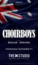 The Choirboys and Release The Hounds at The X Studio