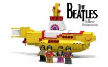 The Beatles Yellow Submarine Lego