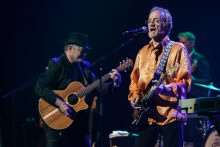 The Monkees with Peter Tork and Micky Dolenz perform at the Palais in St Kilda as part of their 50th anniversary tour on Wednesday 7 December 2016. Photo by Ros O'Gorman