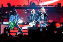 Guns N Roses play the MCG on their 2017 Not In My Lifetime Tour. Photo by Ros O'Gorman