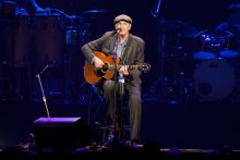 James Taylor performs with his All Star Band in Melbourne at Rod Laver Arena on Wednesday 8 February 2017. photo Ros OGorman