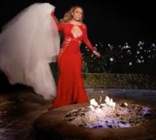 Mariah Carey wedding dress