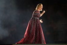 Adele performs at on March 18, 2017 in Melbourne, Australia. Photo credit: Graham Denholm / Getty Images