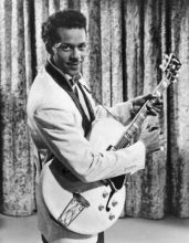 Chuck Berry in the 50s