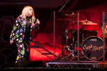 Cyndi Lauper at Rod Laver Arena on Thursday 6 April 2017. Photo by Ros O'Gorman