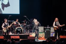 Patti Smith performs Horses at Hamer Hall in Melbourne on Sunday 16 April 2017. Photo by Ros O'Gorman