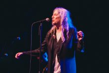 Patti Smith performs her last Australian show at Festival Hall in Melbourne on Thursday 20 April 2017. Photo by Ros O'Gorman