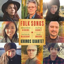 Krons Quartet Folk Songs