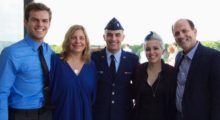 Gary Ashley and family courtesy of Caddman Entertainment