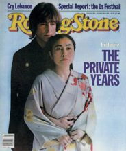Rolling Stone Lennon cover