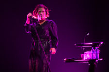 Alison Moyet performs at Margaret Court Arena on Saturday 7 October 2017