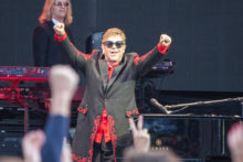 Elton John at A Day On The Green at Rochford Winery on Sunday 1 October 2017. Photo by Ros O'Gorman