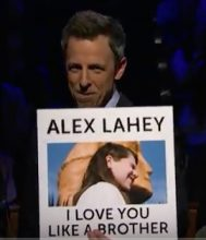 Seth Meyers introduces Alex Lahey to America