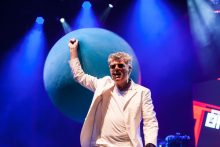 Tom Bailey played Rod Laver Arena on Thursday 30 November 2017. Photo by Ros O'Gorman
