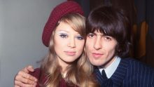 Pattie Boyd and George Harrison Wedding Day