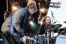 Whit and Kram, Spiderbait ADOTG at Mt Duneed Winery near Geelong featuring The Fauves, Tumbleweed, The Lemondheads, Veruca Salt, Spiderbait, The Living End. Photo by Ros O'Gorman
