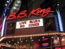 B B King Blues Club New York