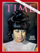 Aretha Franklin on Time Magazine