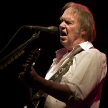 NeilYoung at the Sidney Myer Music Bowl by Ros O'Gorman