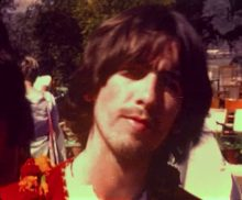 The Beatles Glass Onion video George Harrison