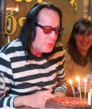 Todd Rundgren celebrates his 70th (photo by Karen Freedman)