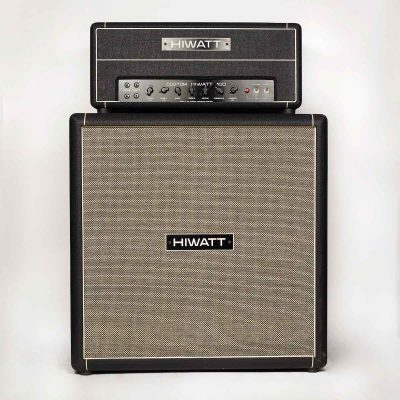Midnight Oil 2004 Hiwatt DR103 amp head and matching 4x12 cabinet
