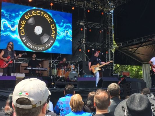 Richard Clapton at One Electric Day 2018