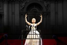 Tina Arena EVITA photo Jeff Busby