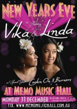 Vika and Linda Bull at MEMO Music Hall