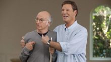 Bob Einstein and Larry David